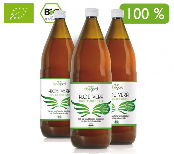 Artikelbild 1 des Artikels Aloegard Aloe Vera Bio Direktsaft 3x1 Liter